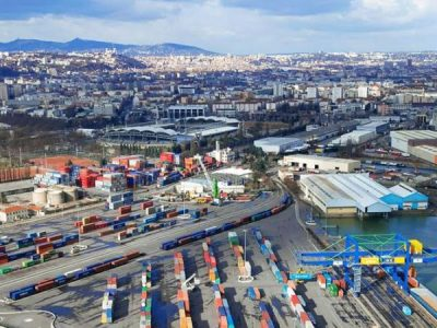 Container Terminal, Port Of Lyon