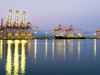 Salalah Container Terminal, Mina Raysut, Oman